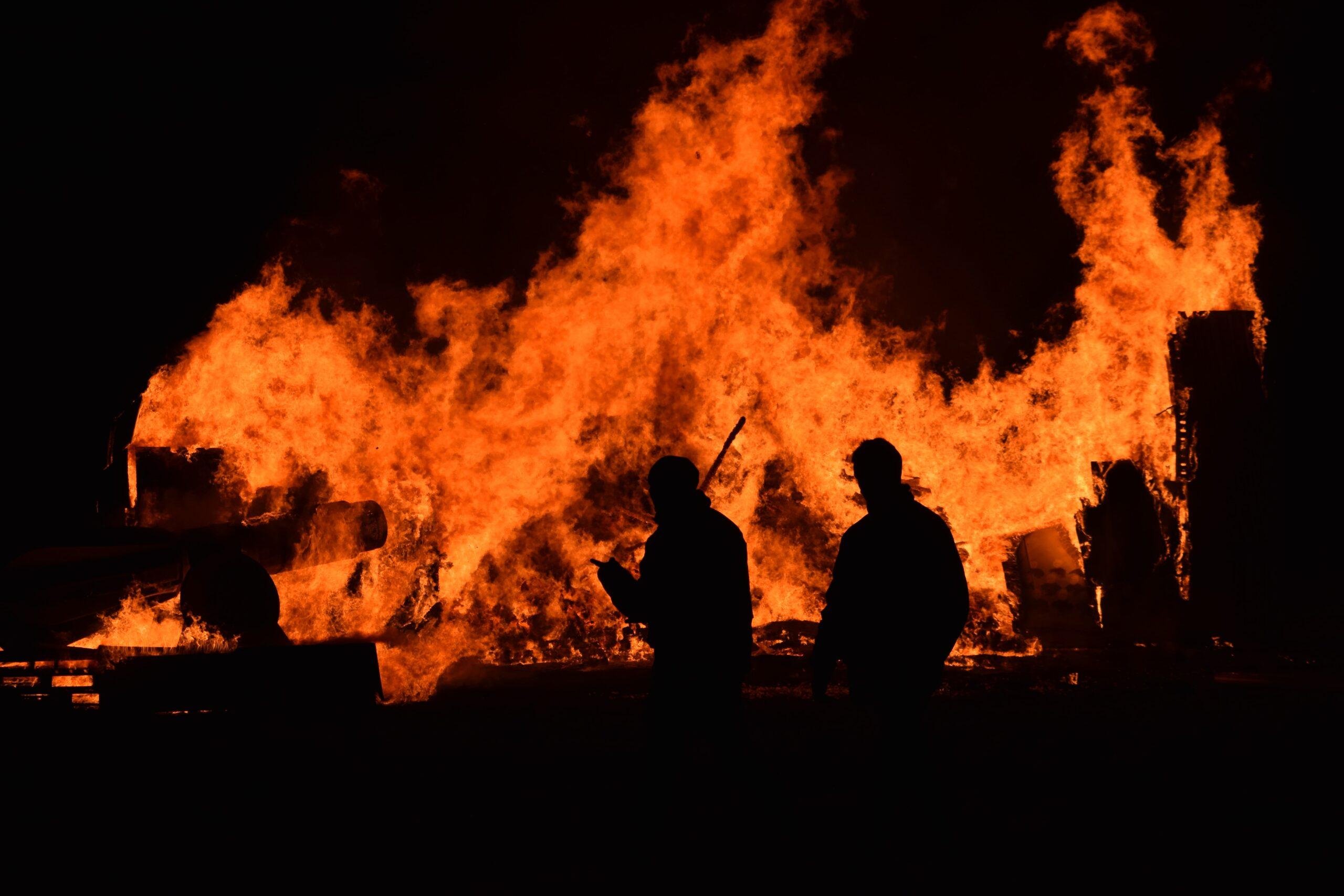 Usuwanie szkód po pożarach